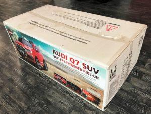 Carton-Voiture-électrique-enfant-Audi-Q7