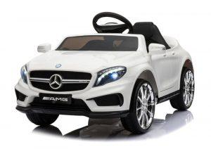 Voiture pour enfant pas cher Mercedes GLA45 blanc