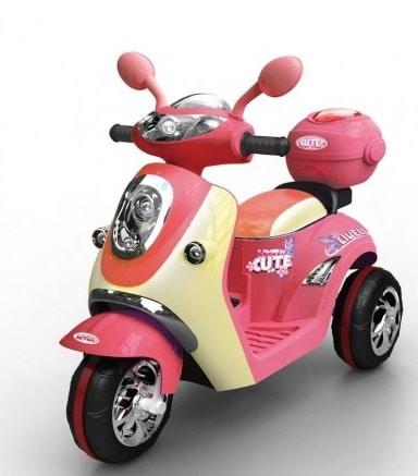Scooter electrique pour enfant style retro 6V