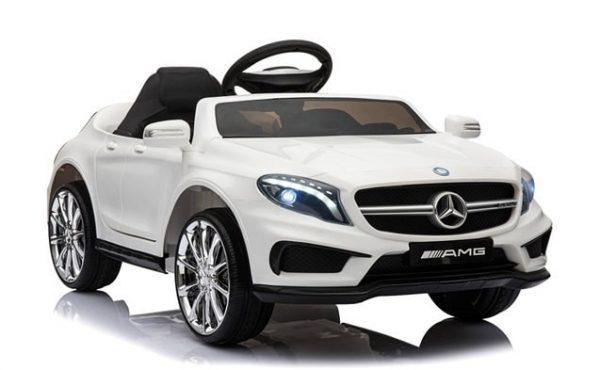 Voitrue électrique enfant Mercedes GLS45 blanc