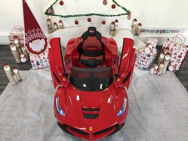 4-mini-voiture-enfant-Ferrari-LaFerrari-Rouge