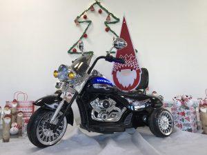 Moto électrique enfant Style Harley chopper 12V
