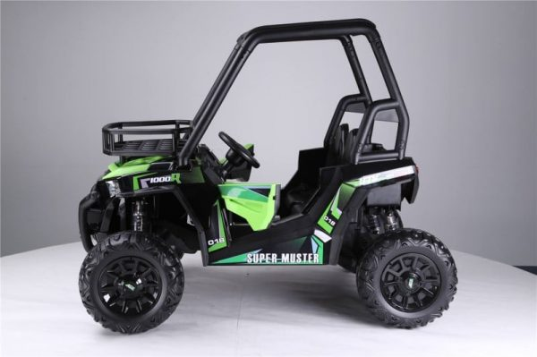 voiture pour enfant 24V buggy vert