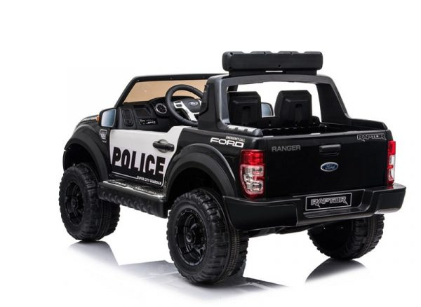 4x4 électrique enfant Raptor Police Noir