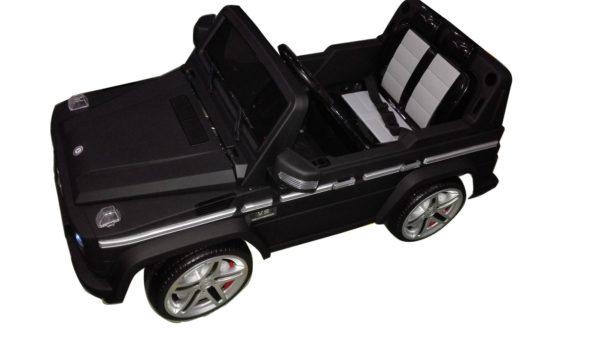 4X4 pour enfant Mercedes G55 AMG électrique Noir Mat  - Vue de dessus