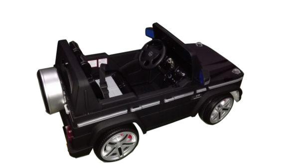 4X4 électrique enfant Mercedes G55 AMG 12V monoplace Luxe Noir Mat