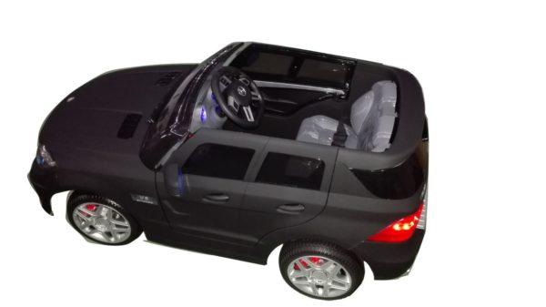 Voiture électrique pour enfant Mercedes ML63 AMG noir mat