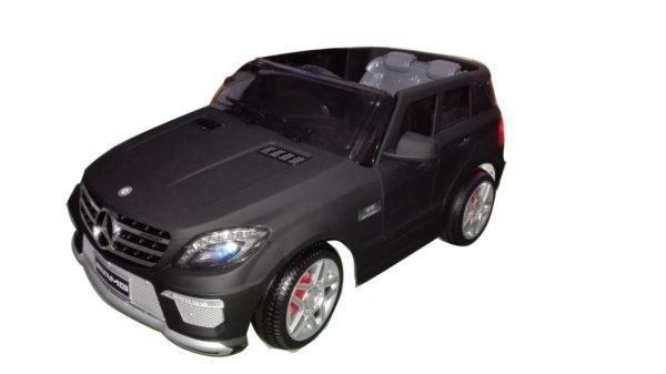 Voiture pour enfant Mercedes ML63 AMG Noir Mat 12V