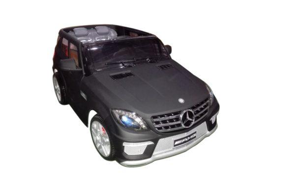 4X4 electrique enfant Mercedes ML63 AMG Noir Mat 12V