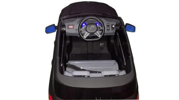 4X4 electrique enfant Mercedes ML63 AMG Noir vu du dessus