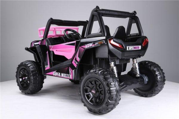 4x4 électrique pour fille 24V rose