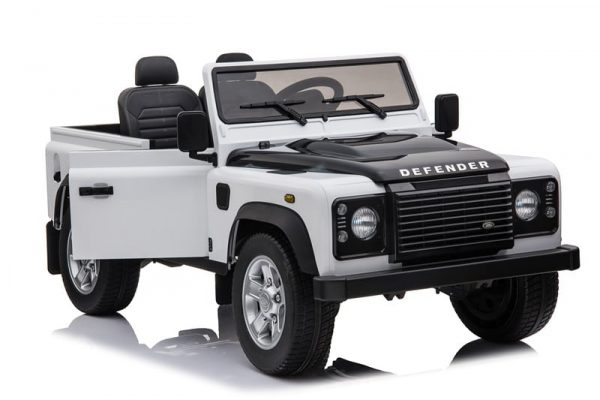 4x4 enfant Land Rover Defender blanc