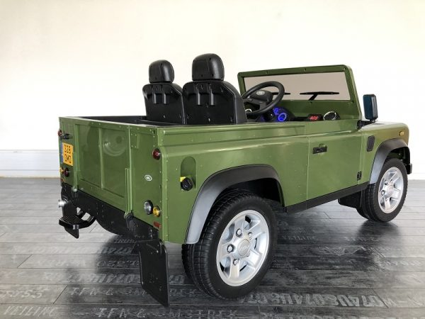 land rover defender enfant 12v