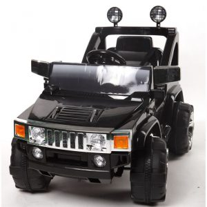 4X4 electrique enfant Hummer 12V monoplace noir