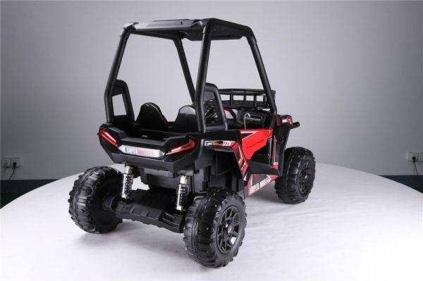grand 4x4x buggy electrique enfant rouge