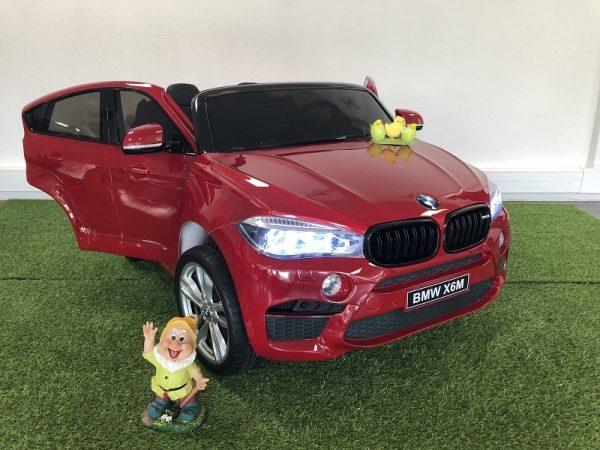 Voiture enfant BMW X6 2 grandes places
