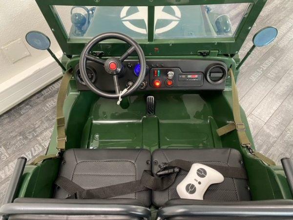 jeep willys electrique enfant 12V