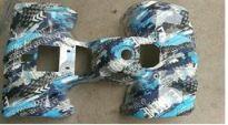 carénage quad ATZ-2100 pro max bleu