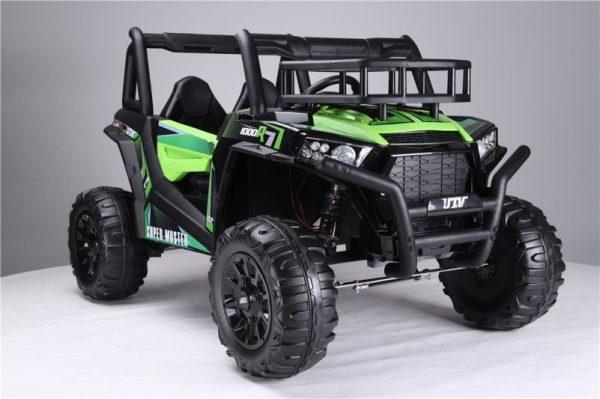 Buggy électrique enfant 24V vert