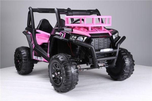 Buggy electrique fille 24V rose
