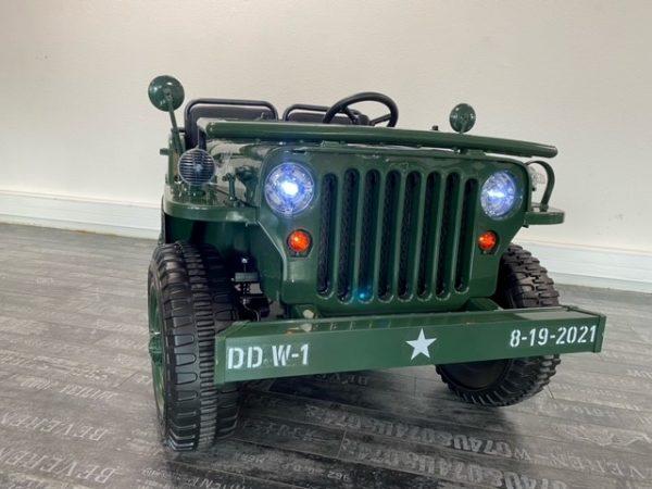 voiture electrique enfant jeep willys 12V