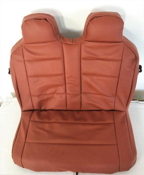 Housse en simili cuir pour voiture lectrique enfant audi q7 for Housse voiture simili cuir