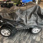 Bahe de protection pour voiture électrique enfant