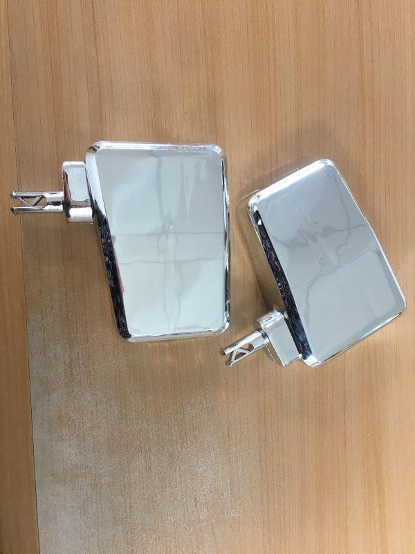 Rétroviseurs chromés - compatibles hummer biplace Kid'zzz N' Quad'zzz