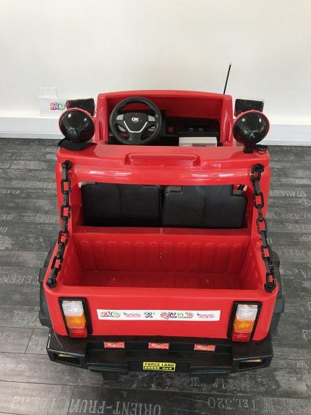 voiture electrique 2 places rouge
