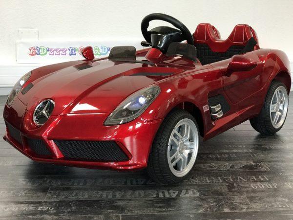 Voiture pour bébé - Mercedes SLR - Rouge - 3/4