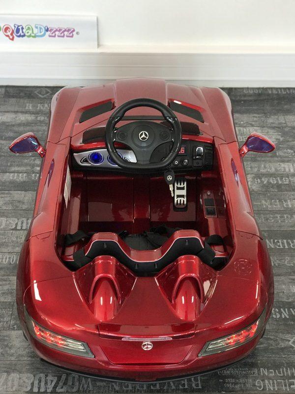 Voiture pour bébé - Mercedes SLR - Rouge - dessus arrière