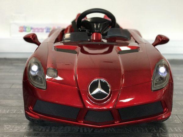 Voiture pour bébé - Mercedes SLR - Rouge - face