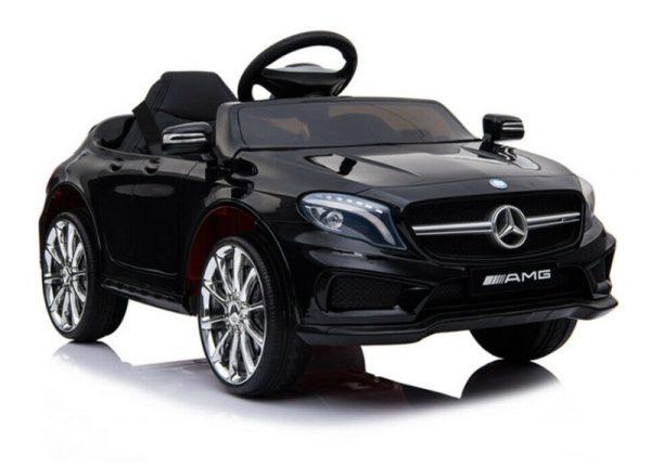 Mercedes electrique enfant GLA45 noir métal