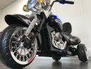 Moto Electrique bébé 12V – Chopper style Harley – Face sol