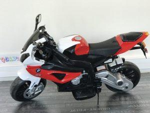 Moto électrique enfant 12V - BMW S1000RR Rouge