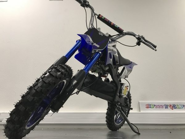 Dirt Bike enfant Moto electrique ZZZ800 bleu 4