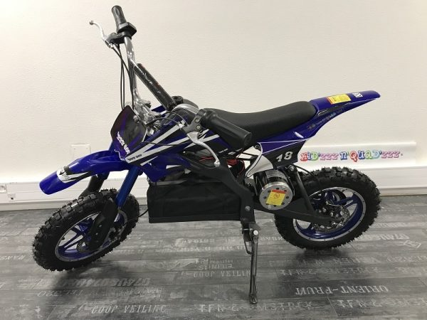 Dirt Bike Enfant ZZZ800 bleu