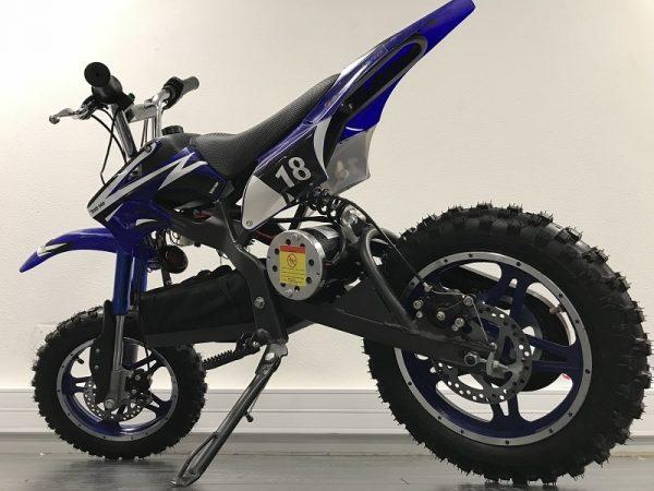 Dirt Bike enfant Moto electrique ZZZ800 bleu 5