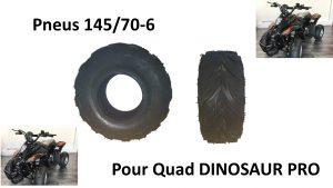 Pneus pour Quads DINOSAUR PRO