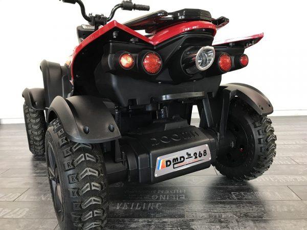 quad électrique enfant 12v rouge