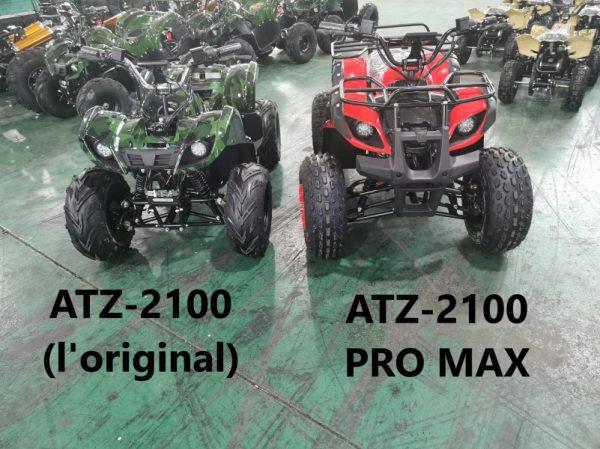 Quad électrique adulte et adolescent ATZ-2100 Pro Max