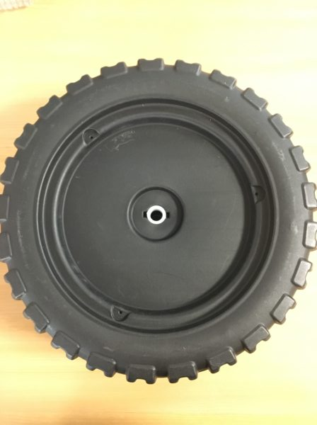 roue pour mini électrique 2 places