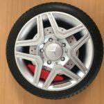Roue en mousse pour 4x4 électrique Mercedes ML63