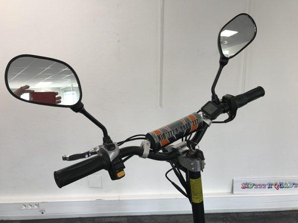 trottinette électrique adultes avec retroviseurs