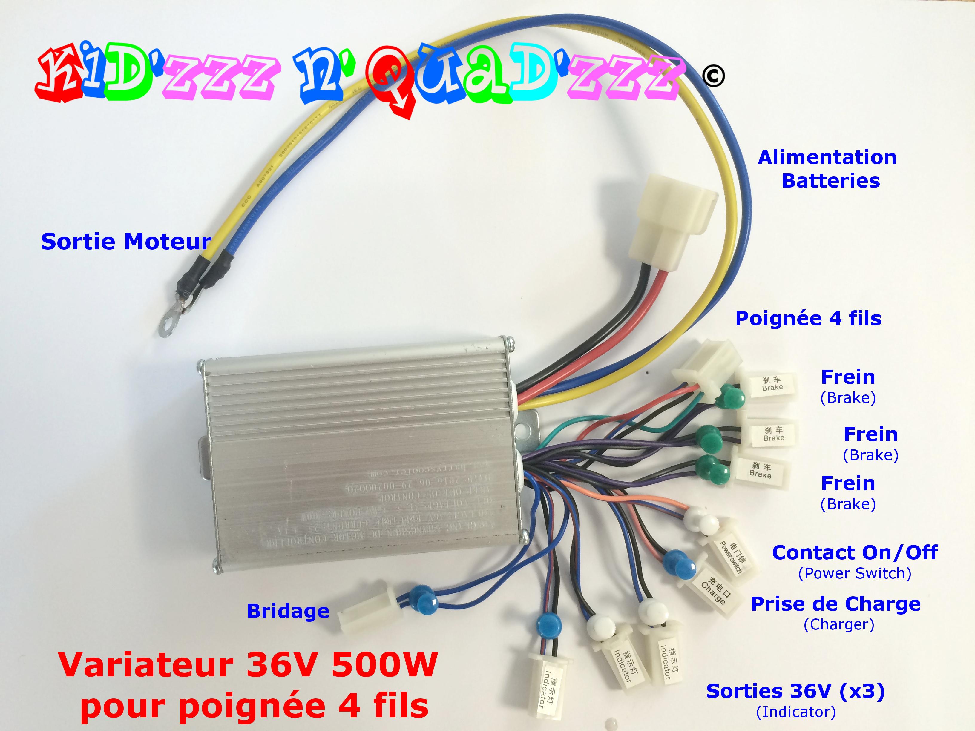variateur pour quad 36V 500W