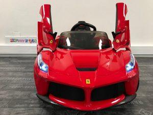 Voiture bébé Ferrari 12V Face