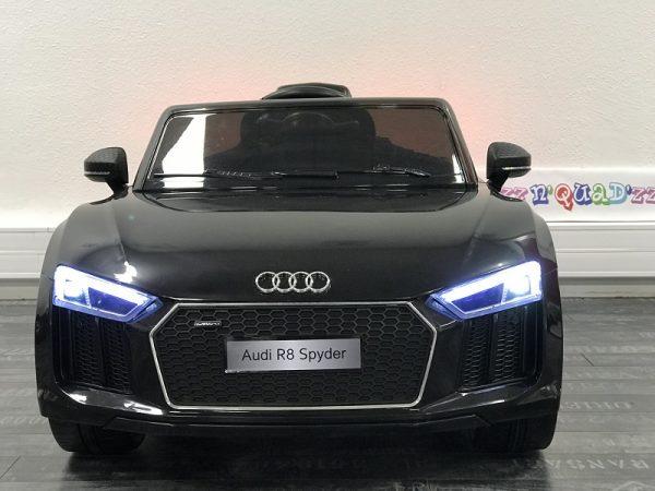Voiture bebe Electrique 12V – Audi R8 noir – 1 Face