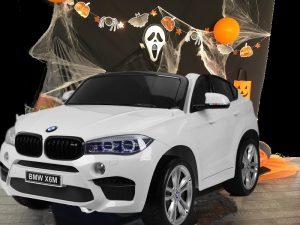 Voiture Electrique enfant BMW X6 blanc