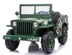 Jeep Willys electrique pour enfant