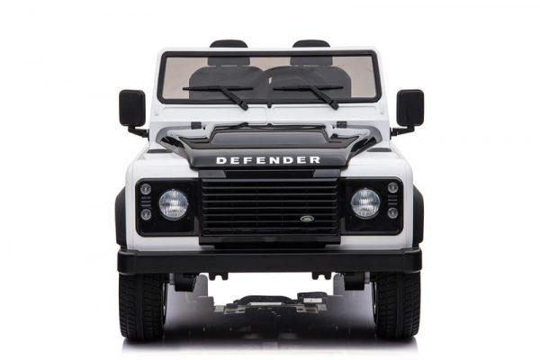 Voiture electrique enfant Land Rover Defendeur Blanc